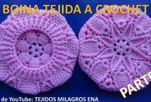 gorros bojnas, вязание крючком вязать шапки, virka sticka hattar / punto de gancillo  croche knitt
