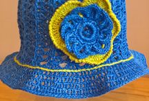 Crochet beanie / Crochet hats/ Knitted and Crochet/ Summer and Spring / https://www.etsy.com/shop/GittaDesign?ref=hdr_shop_menu