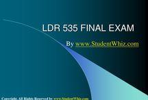 LDR 535 FINAL EXAM