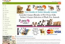 New website / On 14 November, we have launched our new website. Visit www.pawsawhile.com.au
