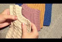 вязание спицами/уроки