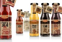 Sauce and Spices Packaging Design