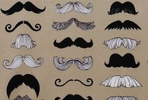 Moustaches / yo laugh up one's sleeve