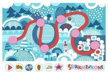 Seikkailukone / Seikkailukone | tulostettava | ilmainen | paperi | kartta | peli | tehtävä | Reppu-Heppu | lapset | lapsi | game | map | children | kids | free printable | paper | pattern | tv show | Pikku Kakkonen
