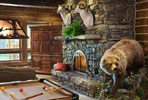 Log Cabin Specialty Rooms / Explore log home speciality rooms.