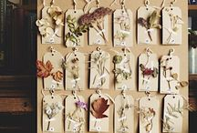 weddings // dried flowers