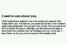Hurt from ex..