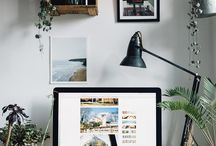 Workspace Inspos / Fancy ideas to decor your own workspace, at home and in office.