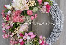 Floral Wedding Wreaths
