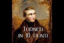 William Turner / Joseph Mallord William Turner (Londra, 23 aprile 1775 – Chelsea, 19 dicembre 1851) pittore e incisore inglese. Appartenente al movimento romantico, il suo stile pose le basi per la nascita dell'Impressionismo.