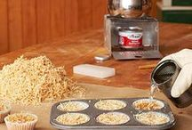 sawdust fire starters and more
