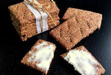 Knækbrød og sødt brød