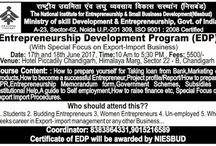 Entrepreneursghip Development Programs