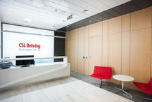 Interior Design :: CSL Behring Office / Project photos, visuals, sketches and plans
