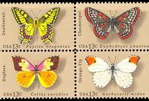 Stamps - butterflies