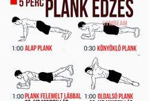 Edzés tervek