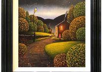 Tony Gittins / Original Oil Paintings from Wolverhampton artist Tony Gittins