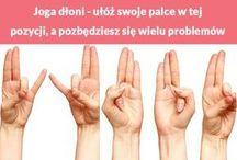 joga dłoni