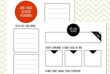 FREE Printables / Free printables to download for active women, triathletes, runners, swimmers.   Our goal is to make planning your life more beautiful.