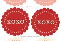 Valentine printebles