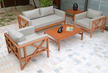 Linha Lanco / A linha Lanco é composta por conjunto de sofá (2 e 3 lugares) e poltrona.