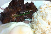 Pinoy food