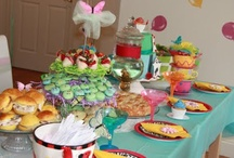 mad hatter tea party / mad hatter tea party, alice in wonderland birthday party