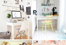 Your Space - Office / Inspiration for creating your own space - in the office.