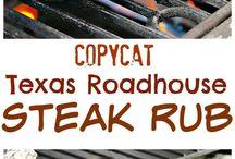 Steak rubs