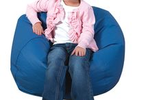 Cuddle-Ups Bean Bags / Cuddle-Ups Bean bags add softness to any environment and are excellent for furnishing a cozy area. Soft cozy places help children relax and feel comfortable in their setting as well as provide an area for quiet time or resting.