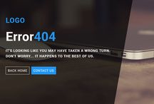 Free 404 Page Template