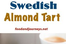 Almond Swedish tarts