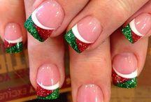 νυχια χριστουγεννιατικα