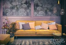 flower dreams / new collection of exclusive frescos and wallpapers
