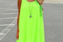 Vestidos neon