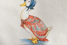 Wallpaper Beatrix Potter