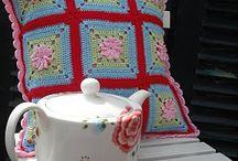♡ kussens haken / crochet pillows