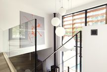 Suspension Luminaire Escalier