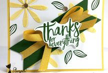 Thank You Cards / Thank You cards made by Stampin' With Pixie using Stampin' Up! products