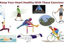 Keep Your Heart Healthy With These Exercises