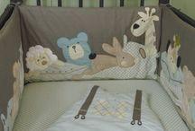 baba ágynemű, kellékek