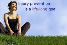 Injury Prevention/ Rehab / drawing, photos and links to work concerning injury prevention and injury rehabilitation.