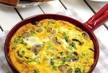 Yumurtalı omletler