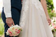 ślub; suknie