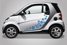 adesivi per auto / http://www.santorografica.com/shop/adesivi-auto/1296-fiori-stilizzati-adesivo-per-auto-stickers.html