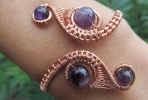 Drátkování - šperky