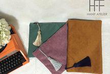 Clutch Çanta - Handbag - Handmade - Eldikimi / Eldikimi handmade clutch çanta ve aksesuarlar