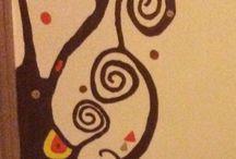El árbol de la vida / Pintura en la pared