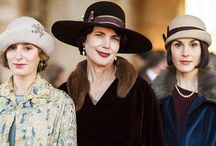 Downton Abbey Hats and Styles ~ LOVE that series!