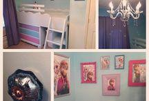frozen slaapkamer